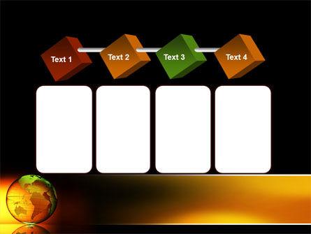Crystalline World PowerPoint Template Slide 18