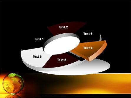 Crystalline World PowerPoint Template Slide 19