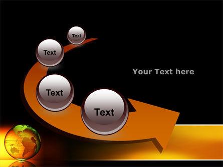 Crystalline World PowerPoint Template Slide 6