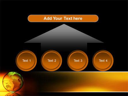 Crystalline World PowerPoint Template Slide 8