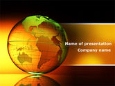 Global: Crystalline World PowerPoint Template #08809