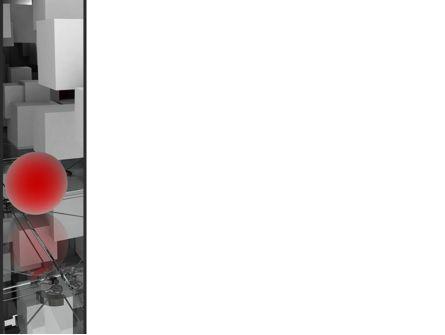 Red Spot PowerPoint Template, Slide 3, 08810, Abstract/Textures — PoweredTemplate.com
