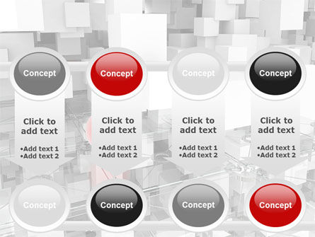 Red Spot PowerPoint Template Slide 18