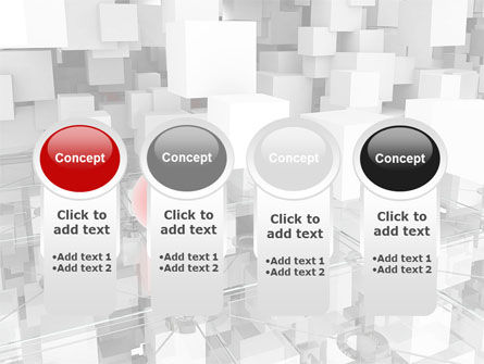 Red Spot PowerPoint Template Slide 5