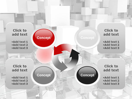 Red Spot PowerPoint Template Slide 9