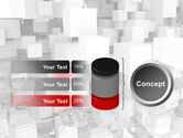 Red Spot PowerPoint Template#11