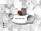 Red Spot PowerPoint Template#16