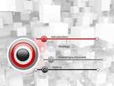 Red Spot PowerPoint Template#3