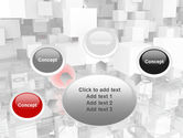Red Spot PowerPoint Template#7