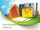 Construction: Plantilla de PowerPoint gratis - computarizar la gestión del tiempo #08812
