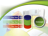 Computerizing Time Management Free PowerPoint Template#11