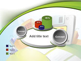 Computerizing Time Management Free PowerPoint Template#16