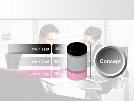 Business Consulting Meeting PowerPoint Template Slide 11