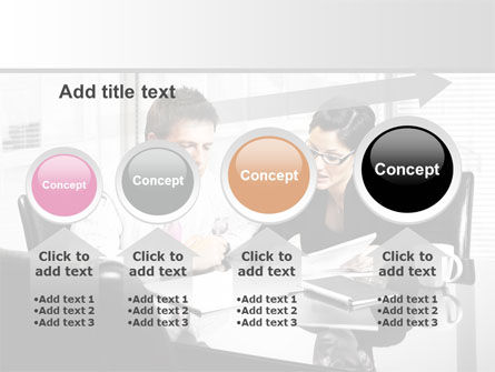 Business Consulting Meeting PowerPoint Template Slide 13