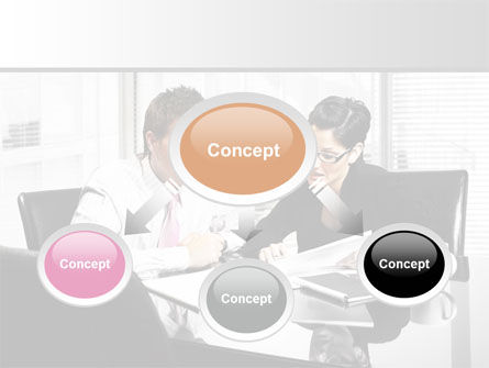 Business Consulting Meeting PowerPoint Template, Slide 4, 08815, Business — PoweredTemplate.com