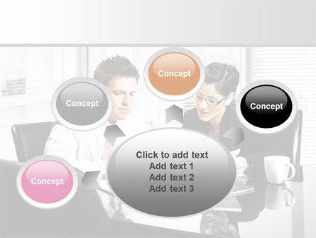 Business Consulting Meeting PowerPoint Template Slide 7