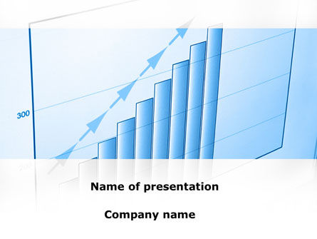 Blue Diagram PowerPoint Template, 08818, Business Concepts — PoweredTemplate.com