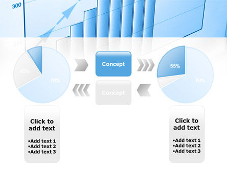 Blue Diagram PowerPoint Template Slide 11