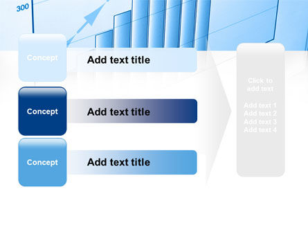 Blue Diagram PowerPoint Template Slide 12
