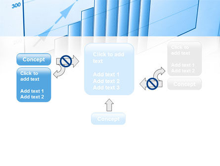 Blue Diagram PowerPoint Template Slide 13