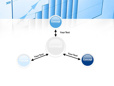 Blue Diagram PowerPoint Template Slide 14