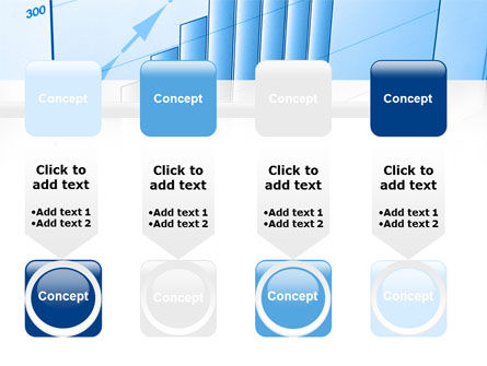 Blue Diagram PowerPoint Template Slide 18