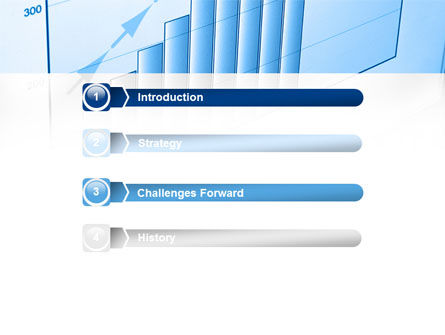 Blue Diagram PowerPoint Template, Slide 3, 08818, Business Concepts — PoweredTemplate.com