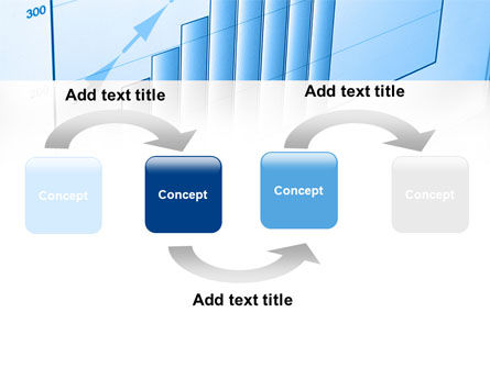 Blue Diagram PowerPoint Template, Slide 4, 08818, Business Concepts — PoweredTemplate.com