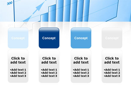 Blue Diagram PowerPoint Template Slide 5