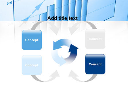 Blue Diagram PowerPoint Template Slide 6