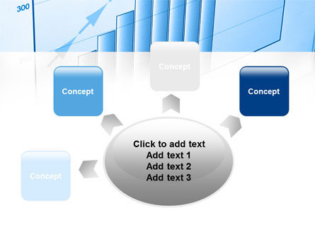 Blue Diagram PowerPoint Template Slide 7