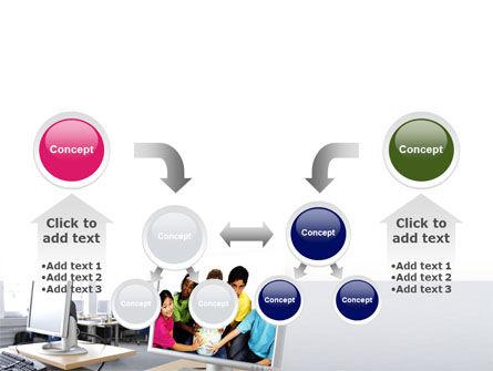 Computer Lectorium PowerPoint Template Slide 19