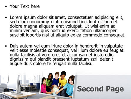 Computer Lectorium PowerPoint Template, Slide 2, 08819, Education & Training — PoweredTemplate.com