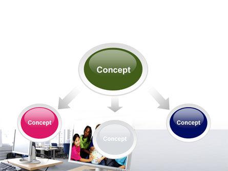 Computer Lectorium PowerPoint Template, Slide 4, 08819, Education & Training — PoweredTemplate.com