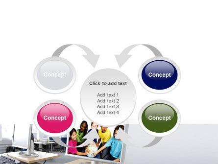 Computer Lectorium PowerPoint Template Slide 6