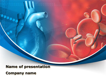 Medical: Circulatory System PowerPoint Template #08822