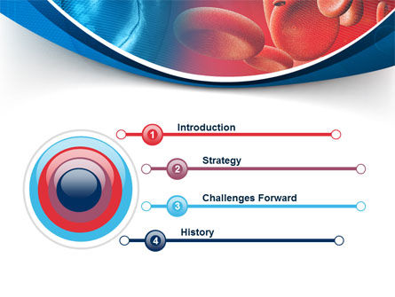 Circulatory System PowerPoint Template, Slide 3, 08822, Medical — PoweredTemplate.com