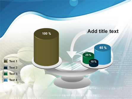 Falling Tablets PowerPoint Template Slide 10