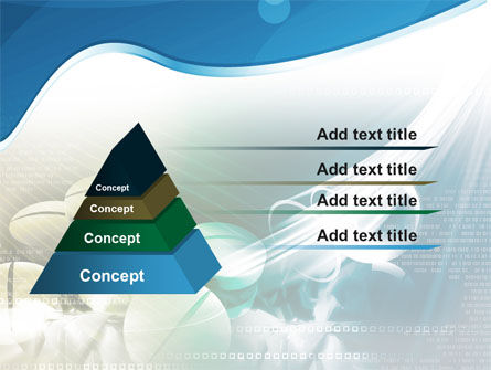 Falling Tablets PowerPoint Template Slide 12