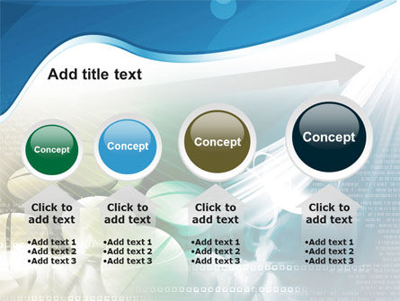 Falling Tablets PowerPoint Template Slide 13