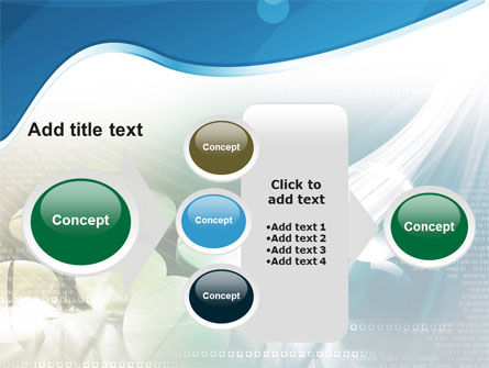 Falling Tablets PowerPoint Template Slide 17