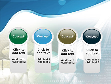 Falling Tablets PowerPoint Template Slide 5