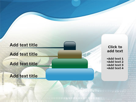 Falling Tablets PowerPoint Template Slide 8