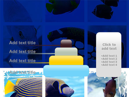 Tropical Fish Collage PowerPoint Template Slide 8