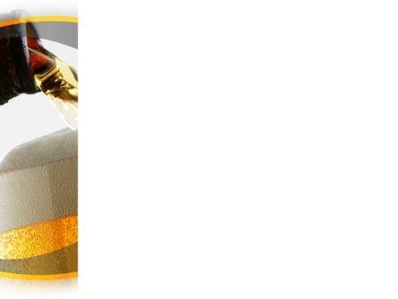 Beer Bottle PowerPoint Template, Slide 3, 08825, Food & Beverage — PoweredTemplate.com