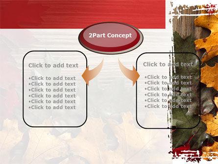 Leaf Litter PowerPoint Template, Slide 4, 08827, Nature & Environment — PoweredTemplate.com