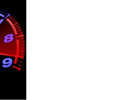 Tachometer PowerPoint Template, Slide 3, 08828, Cars and Transportation — PoweredTemplate.com