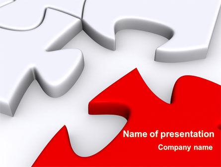 Puzzle Parts Folding PowerPoint Template