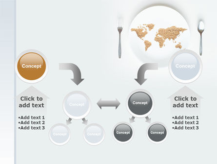 World Wide Food Market PowerPoint Template Slide 19