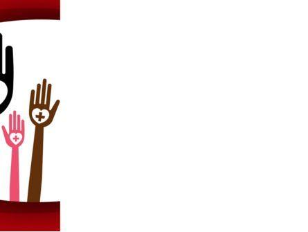 Blood Donor PowerPoint Template, Slide 3, 08835, Religious/Spiritual — PoweredTemplate.com